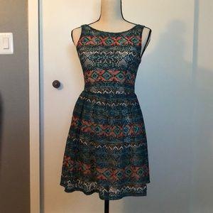 Tribal lace dress